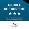 Logo meublé de tourisme trois étoiles